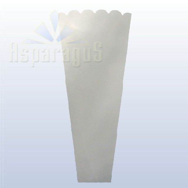 FLORAL SLEEVE TRANSPARENT 30CM/TRANSPARENT (50PCS/PACK)