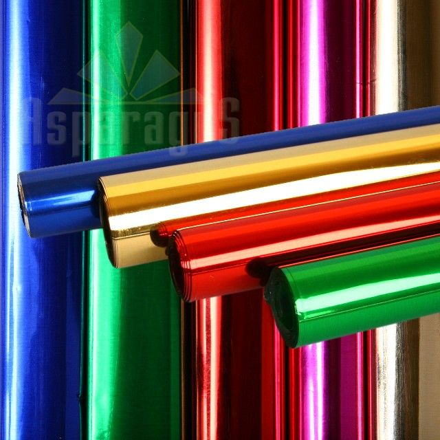 CELLOPHANE SHEET 70X100CM/METAL (25PCS/PACK)