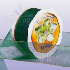 TEXTILE RIBBON 38MMX10Y/TOBACCO GREEN
