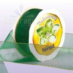 TEXTILE RIBBON 38MMX10Y/APPLE GREEN