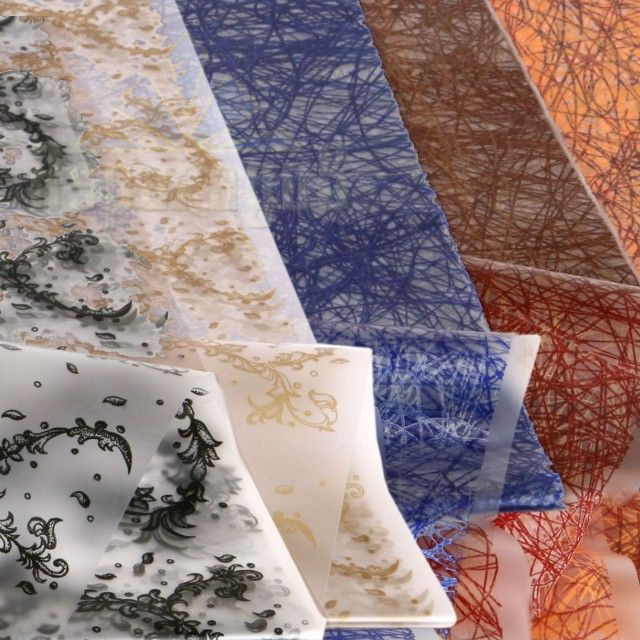 MAT FOIL SHEET 70X100CM PATTERNED (5PCS/PACK)