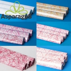 MAT FOIL ROLL 70X100CM SIZAL PATTERNED (5PCS/PACK)