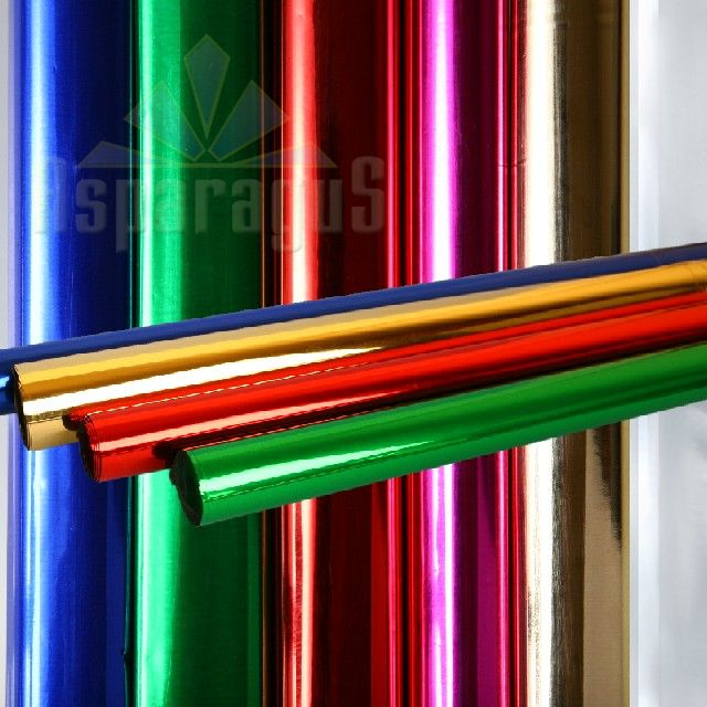 CELLOPHANE SHEET 50X70CM/METAL (10PCS/PACK)