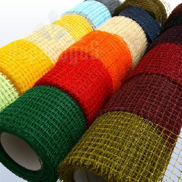 MESH DECORATIVE RIBBON 10CMX10M