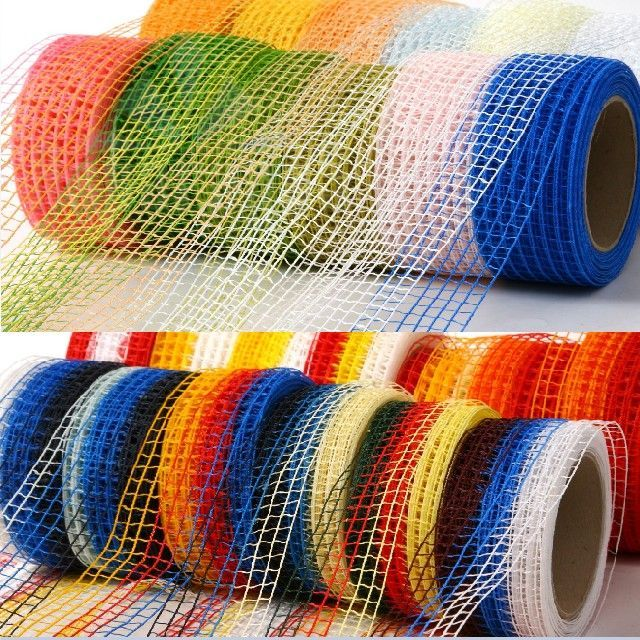 FIX_MESHED DECORATIVE RIBBON 5CMX10M