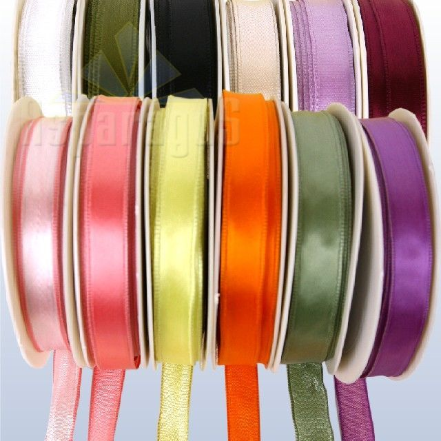 SATIN RIBBON WIRED 10MMX25M
