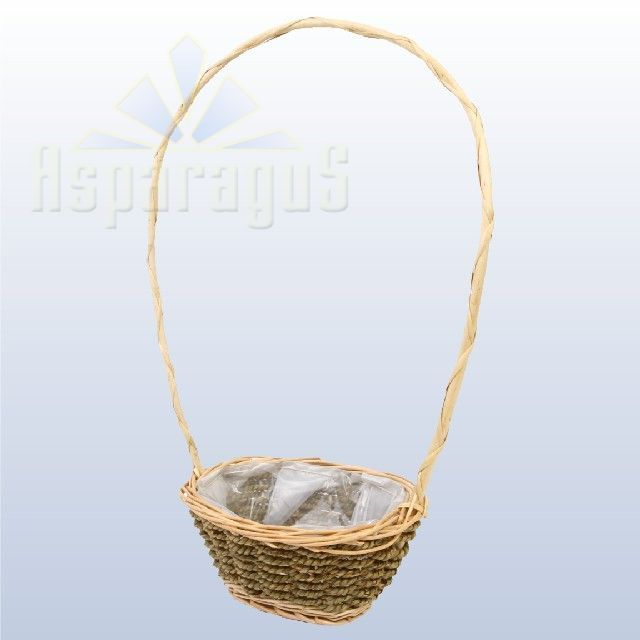 WICKER BASKET/BROWN