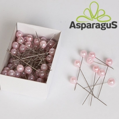 CORSAGE PIN/ ROSE D: 10X65MM (72PC/PACK)